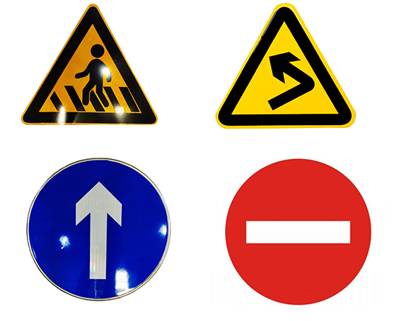 customized aluminum circle for traffic road signs