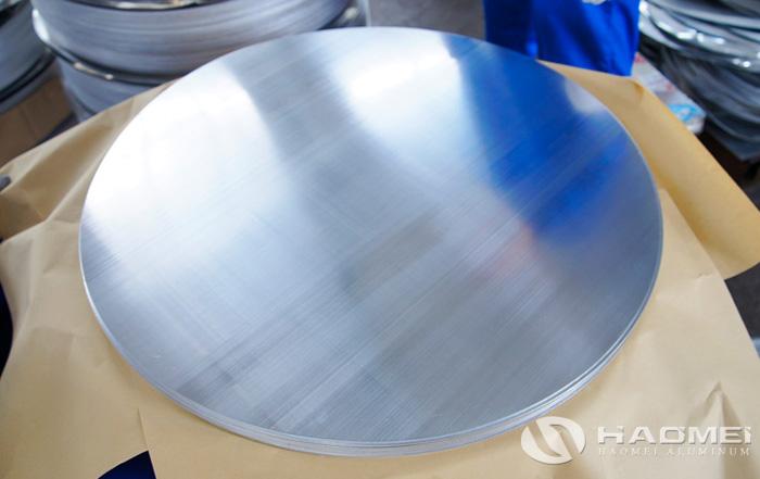 aluminum plate circle