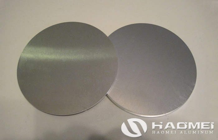 aluminum circle disc