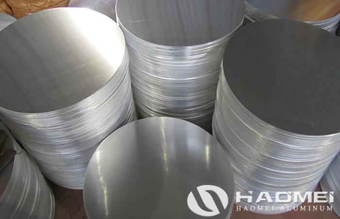 aluminum round blank