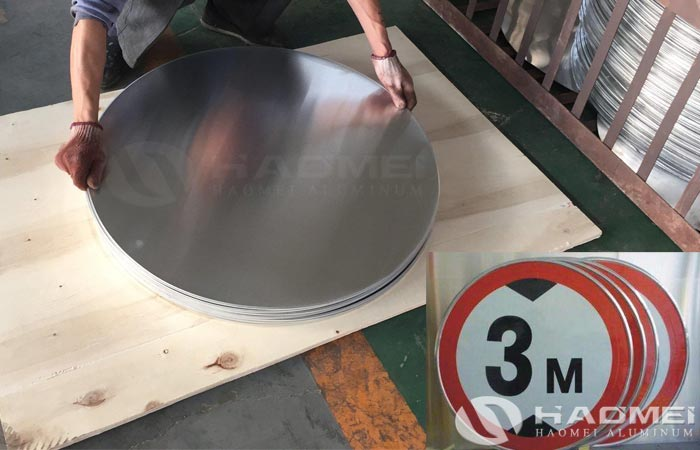 1070 aluminum discs for traffic signs