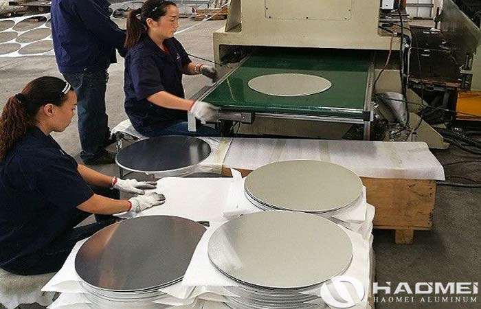 aluminium circle for making utensiles