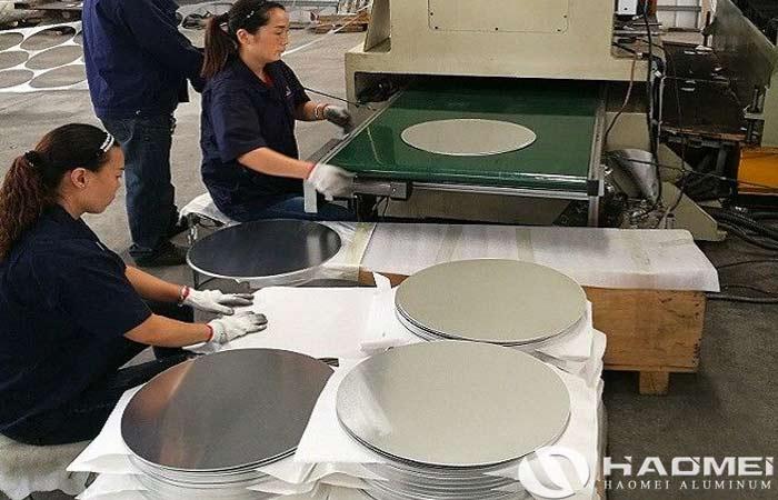 aluminium circle for making utensiles