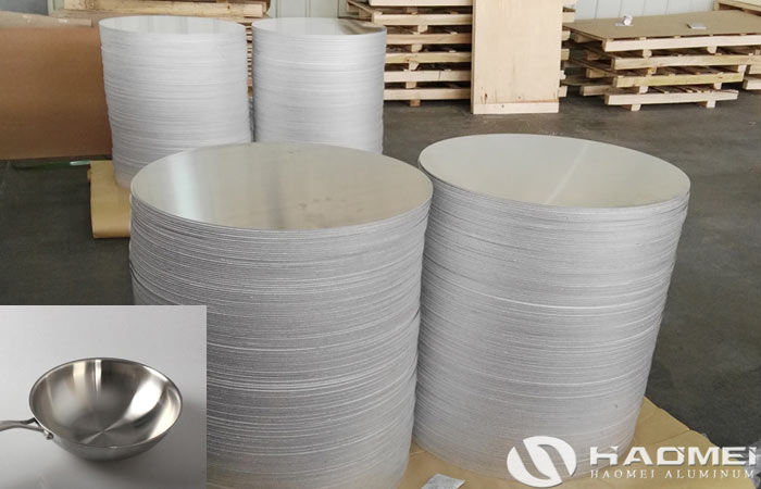 aluminium circle for making pot