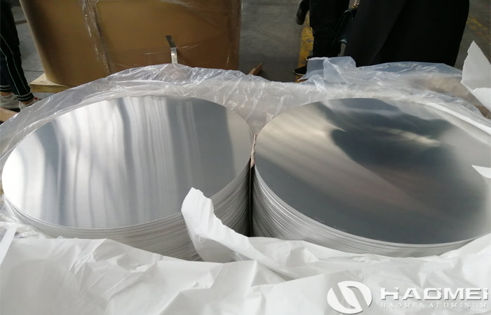 dc aluminum circle