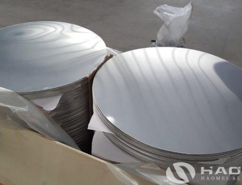 High-quality aluminium round discs