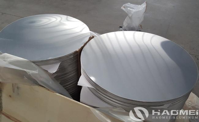 aluminium round discs