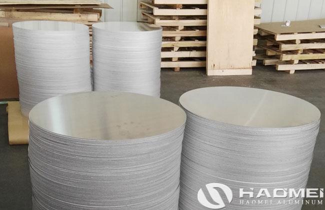 blank aluminum discs