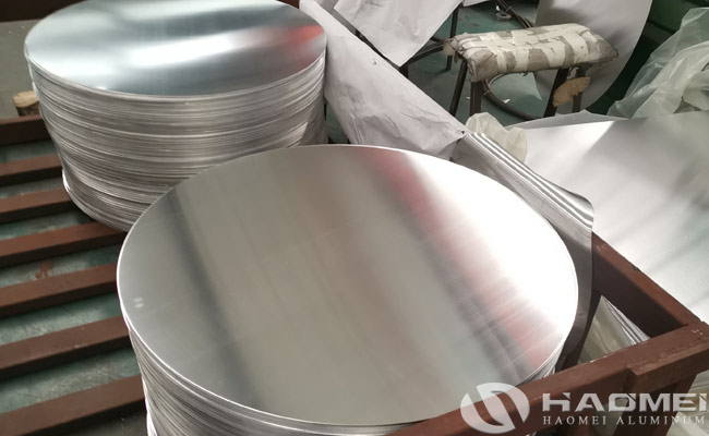 DC aluminum circle for kitchen utensils