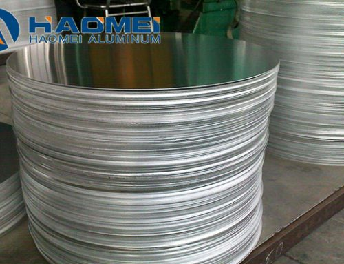Aluminium circle for pot sheets