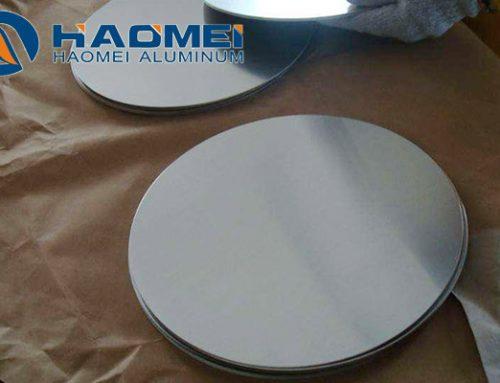 Cookware materials aluminum circle