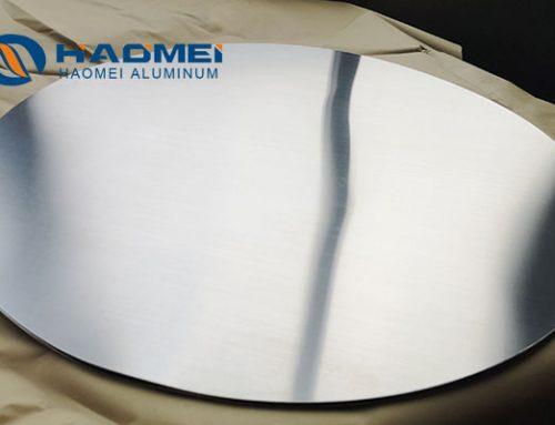 Aluminum disc for cooking utensil