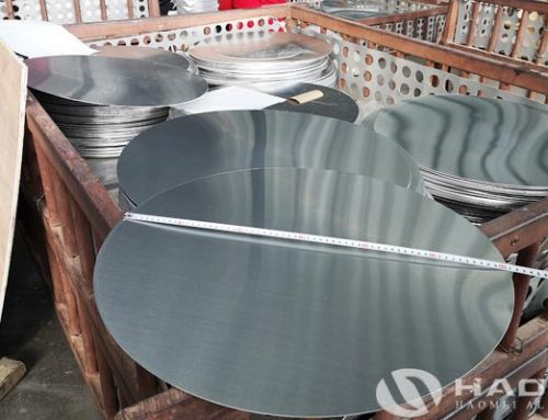 Alloy 1050 aluminum circle for sale