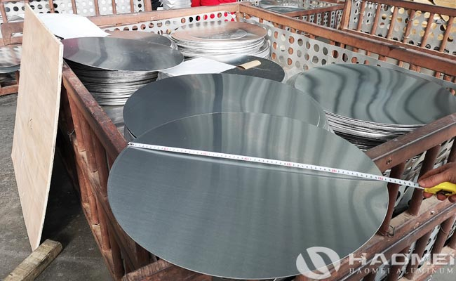 alloy 1050 aluminum circle