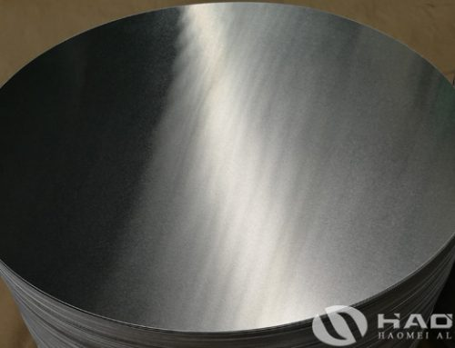 Aluminium circles used for cookware
