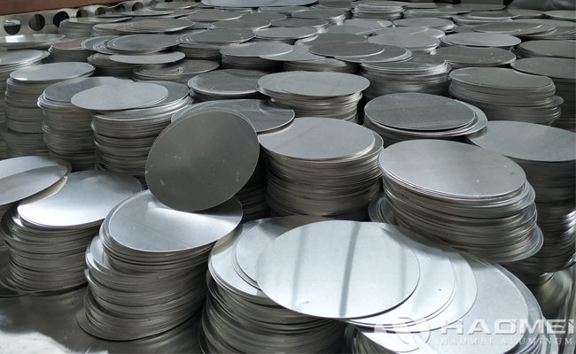 aluminium circle sheet for pot