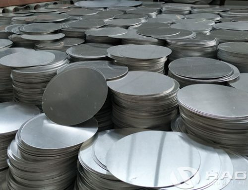 Aluminum discs for road signs