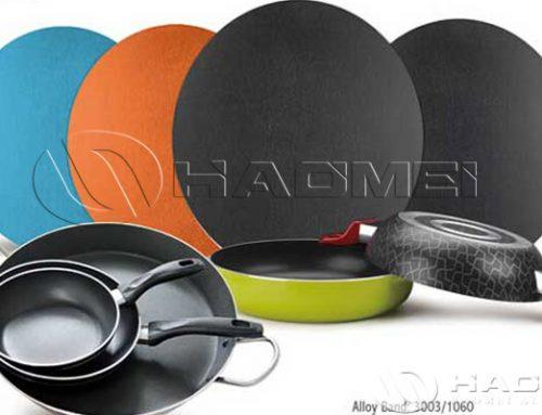 Teflon coated aluminium discs